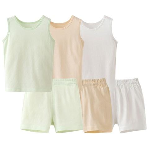 88VIP: Les enphants 丽婴房 儿童竹纤维背心套装 低至21.86元