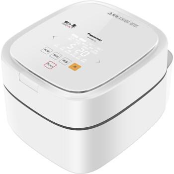京东PLUS会员、历史低价: Panasonic 松下 SR-E10H1-W IH电饭煲 3L 白色 1430.47元(双重优惠)