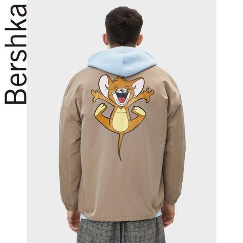 Bershka 猫和老鼠联名系列 01302777742 男士工装风外套 129元