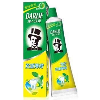 DARLIE 黑人 双重薄荷 牙膏 225g *10件 94元(需用券,合9.4元/件)