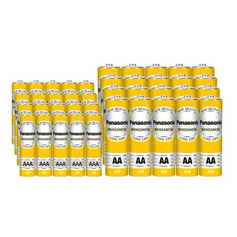 松下 碳性电池 5号/7号 共40粒 19.9元包邮(需用券)