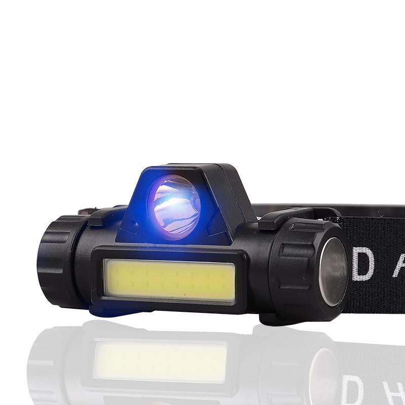 迭影 dy159 双灯源LED强光头灯 9元包邮(需用券)