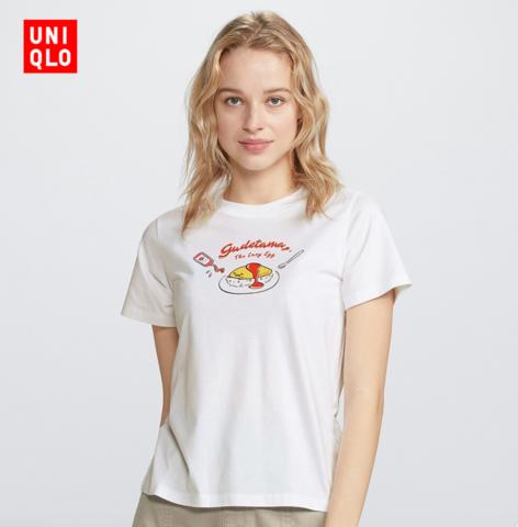 UNIQLO 优衣库 UQ427248000G 女士印花T恤 59元