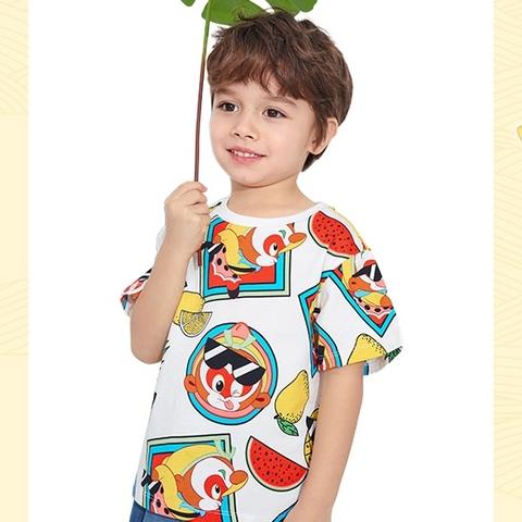 balabala 巴拉巴拉 大闹天宫IP 儿童短袖T恤 44元(需买2件,实付88元包邮)
