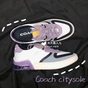 Coach Citysole 轻便拼色女款板鞋 6折$90