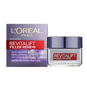 L'Oréal Paris欧莱雅 Revitalift Filler 复颜抗皱紧致日霜 50ml 到手约¥86.05