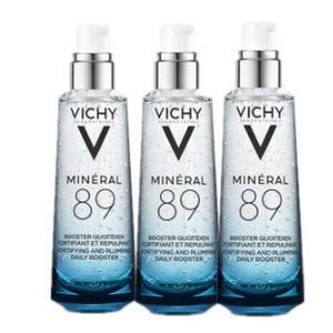 包税!VICHY薇姿89火山能量瓶 75ml*3瓶 凑单折后价€58.95(约156元/瓶)