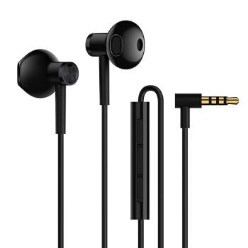 MI 小米 双单元半入耳式耳机 黑色 31元包邮