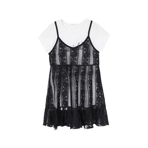 Balabala 巴拉巴拉 女童连衣裙套装 29.9元包邮