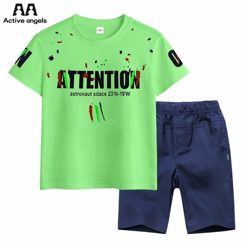 AA 儿童夏季短袖运动套装 24.9元(需用券)