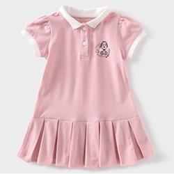 SNOOPY 史努比 女童短袖连衣裙 39元包邮(需用券)
