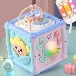 知识花园 宝宝手拍鼓 六面体玩具 中号 哈尼猴电池款 29元包邮(需用券)