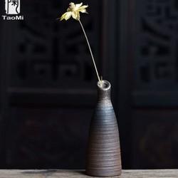 TAOMI 陶迷 无釉花器·君子 陶瓷花瓶 5*13cm 9.9元包邮