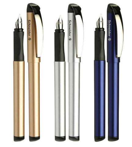 Schneider 施耐德 BK600 钢笔 钢笔+宝珠笔套装 55元包邮(需用券)