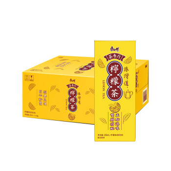 限地区: 康师傅 茶参厅柠檬茶 250ml*24盒 29.9元