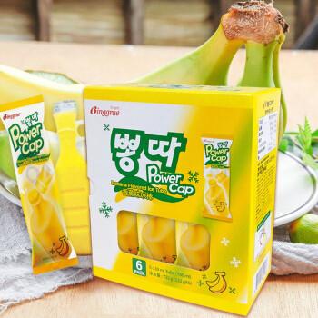 BINGGRAE 宾格瑞 香蕉牛奶口味冰棒 122g*6支 *5件 99.5元(下单立减)