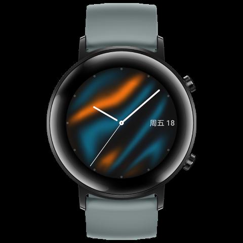 百亿补贴: HUAWEI 华为 WATCH GT2 智能手表 运动款 42mm 989元包邮