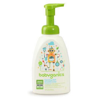 BabyGanics 甘尼克宝贝 奶瓶清洗剂 473ml 46元包邮(需用券)