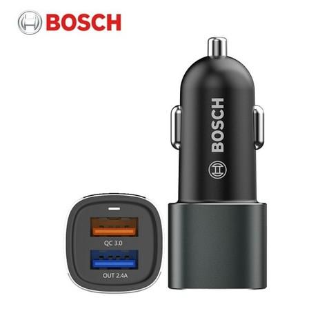 百亿补贴: BOSCH 博世 SC208 智能车载充电器 QC3.0智能快充 45元包邮