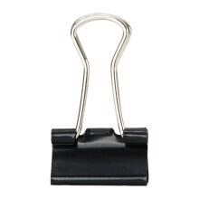 M&G 晨光 ABS92737 Eplus长尾夹 12枚 15mm 黑色 1.5元