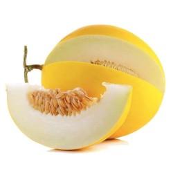 果农富 陕西金香玉甜瓜 2.5±0.1斤 约1-2个 *2件 19.8元包邮