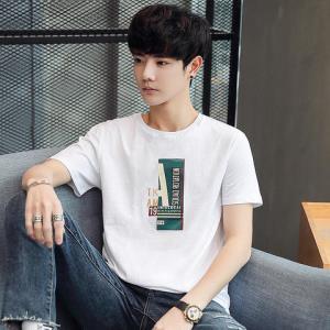 KMKILOKM&METERS男装夏季青年圆领短袖t恤 29元