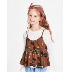 Balabala 巴拉巴拉 女童衬衫长袖 *3件 119元包邮(合39.67元/件)