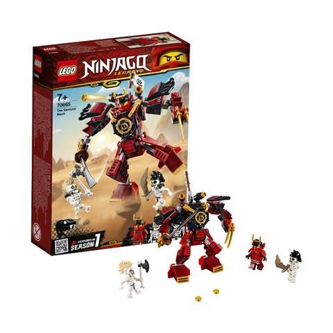 考拉海购黑卡会员: LEGO 乐高 Ninjago 幻影忍者系列 70665 武士X机甲 104.64元包邮包税