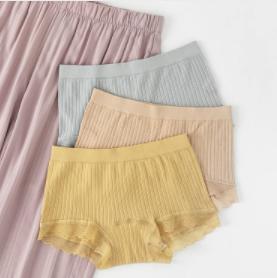 ANNAKAKA 无痕蕾丝中腰内裤 3条装 39元包邮(需用券)