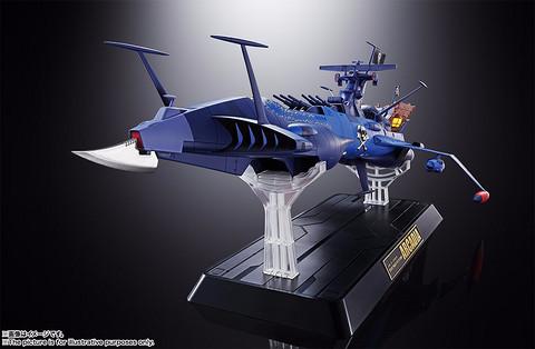 玩模总动员、新品预定: BANDAI 万代 超合金魂 GX-93 宇宙海贼哈洛克船长 阿卡迪亚号 2204元含税包邮