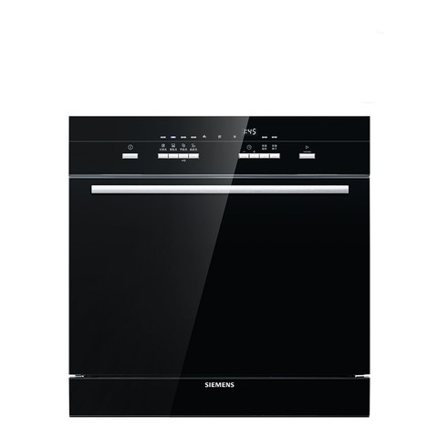 SIEMENS 西门子 SC454B01AC 嵌入式洗碗机 8套 黑色 4899元包邮(双重优惠)