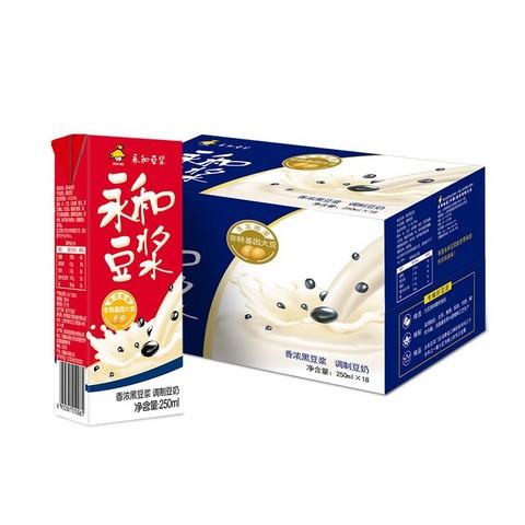 10日0点、88VIP: 永和豆 浆黑豆豆浆 250ml*18盒 *4件 71.06元(多重优惠)