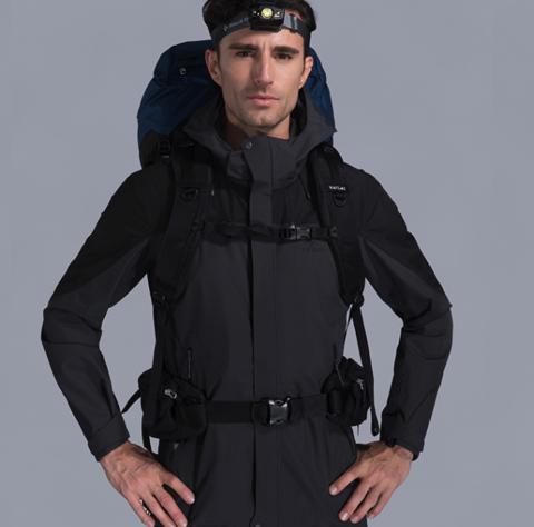 Kailas 凯乐石 KG110219 男款徒步冲锋衣外套 319元(需用券)