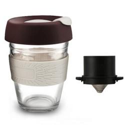 普智 手冲咖啡杯带滤网壶套装 58元包邮(需用券)
