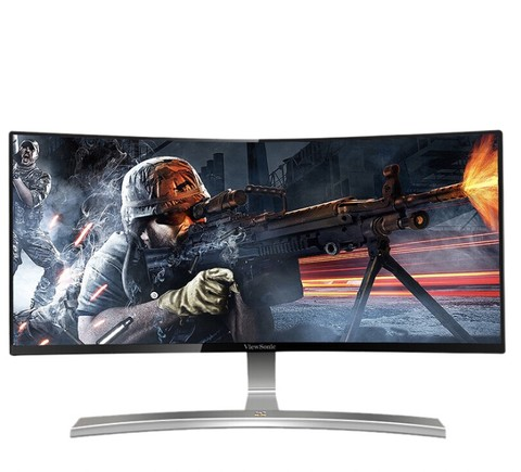 ViewSonic 优派 VX3015-C-PRO 30英寸 VA曲面电竞显示器(2560x1080、144Hz) 1529元包邮(需用券)