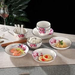 京东PLUS会员: 孟垣 理想之花中式餐具套装 16件套 34.9元包邮(需用券)