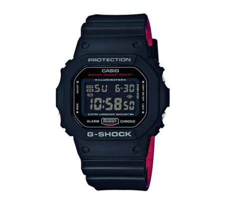 百亿补贴: CASIO 卡西欧 G-SHOCK系列 DW-5600HR-1 运动男表 427元包邮(需用券)