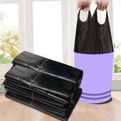 限地区、移动专享: 唐努乌 手提背心式垃圾袋 400只装 17.8元包邮(需用券,需拼购)