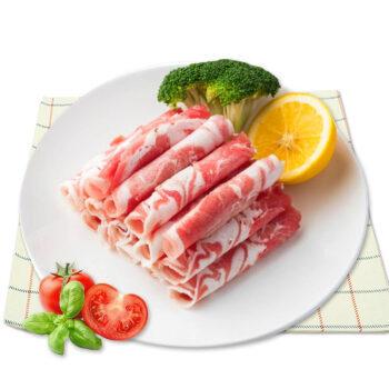 AONIUBAO 澳纽宝 原切羔羊肉卷 500g/袋 *4件 130元(双重优惠)