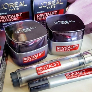 L'Oreal Paris 欧莱雅 Revitalift Filler 面部护理套装(日霜50ml+晚霜50ml) 到手约¥151.65