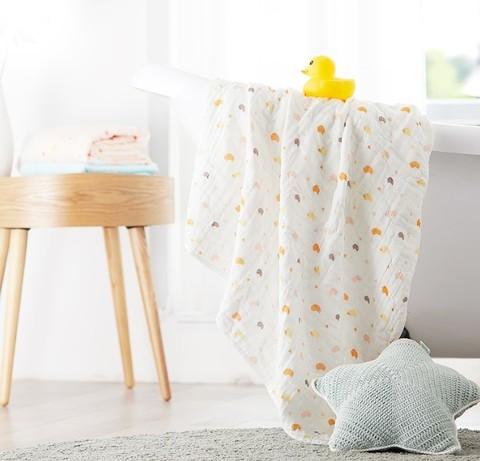 京东PLUS会员: Purcotton 全棉时代 婴童纱布浴巾 115*115cm *3件 低至59.23元(需用券)