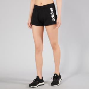 adidas潮流经典时尚百搭舒适透气女款运动裤跑步短裤 77元
