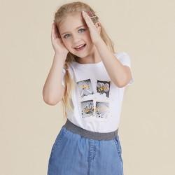 JEANSWEST 真维斯 儿童纯棉短袖T恤 14.9元包邮(需用券)
