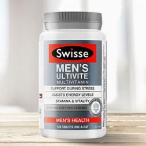 Swisse 男士复合维生素片 120片 凑单到手价¥126.19