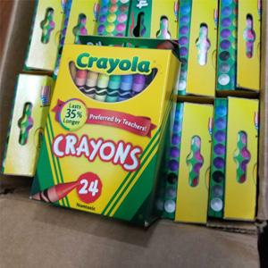 Crayola绘儿乐 蜡笔 24色*6盒 凑单到手约¥73.2