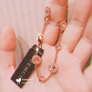 Givenchy纪梵希镶钻转运珠手链 6.5折$31.2