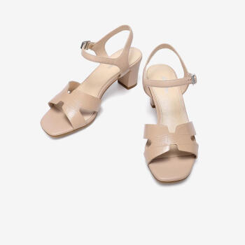 Bata AHW05BL0 女士粗跟凉鞋 298元