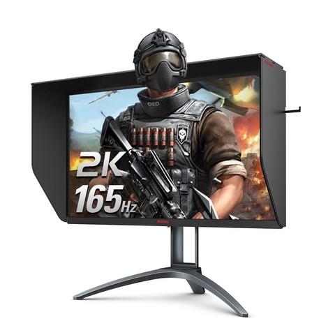 AOC 爱攻 AG273QXS 27英寸IPS显示器(2560*1440、165HZ、1ms) 2499元包邮(需用券)