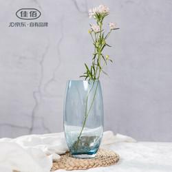24日0点: 佳佰 创意冰裂纹玻璃花瓶 低至11.95元/件