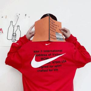 Nike Swoosh logo双钩子男款长袖T恤 1件免邮$18.75